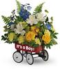 Sweet Little Wagon Bouquet