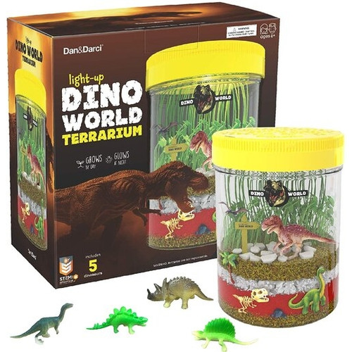 Light-Up Dino World Terrarium Kit