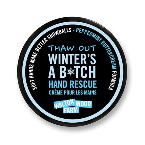 Winter's a B*tch Hand Rescue
