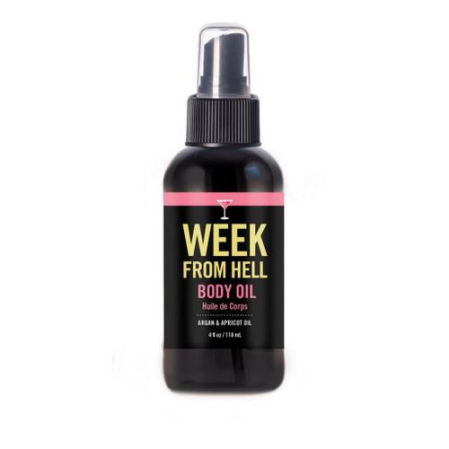 Body Oil Spray - Week from Hell 4oz