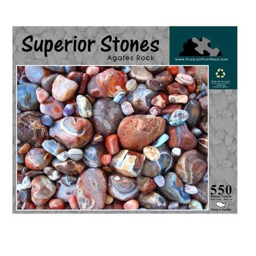 Superior Stones Rock Puzzle, 550pcs