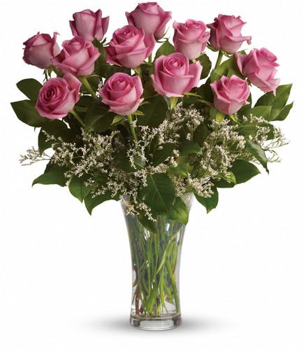 12 Lavender Roses Bouquet