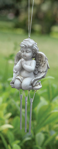 Kneeling Angel Wind Chime