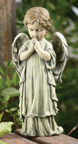 Praying Child Angel Statue