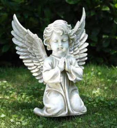 Large Kneeling Praying Angel
