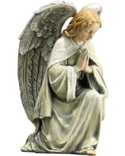 Kneeling Angel Garden Statue
