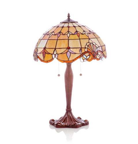 "25"" Amber Allistar Table Lamp"