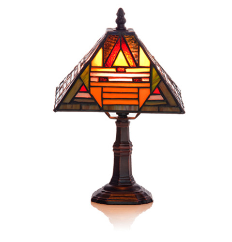 Mission Style Accent Table Lamp
