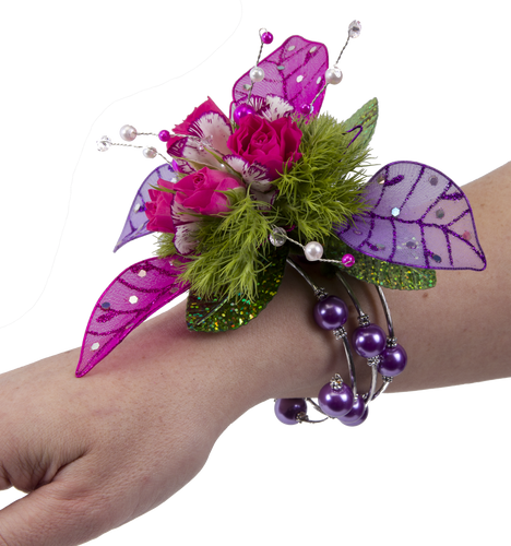Custom Made - Keepsake Memory Wire Wrist Corsage