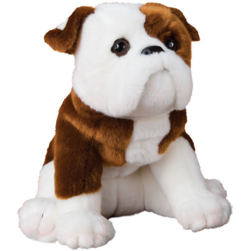 "16"" Hardy Bulldog Plush By Douglas"