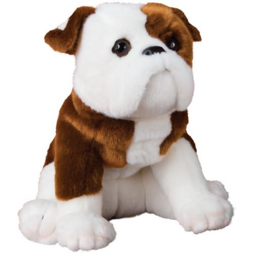 "16"" Hardy Bulldog Plush By Douglas"
