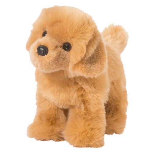 "10"" Chap Golden Retreiver Plush By Douglas"