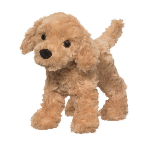 "8"" Thatcher Golden Retreiver Plush By Douglas"