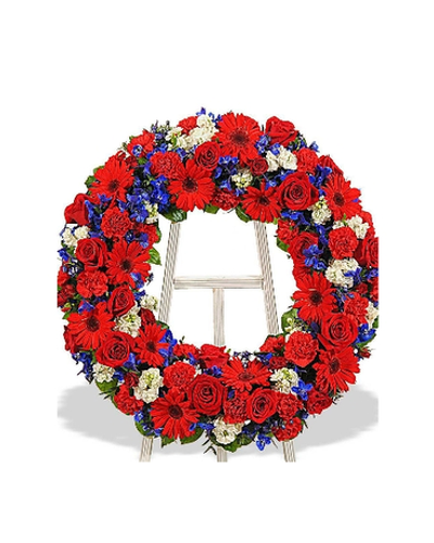 To Honor One  Wreath