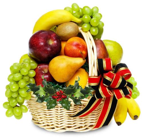 fruits & sweets Christmas Basket