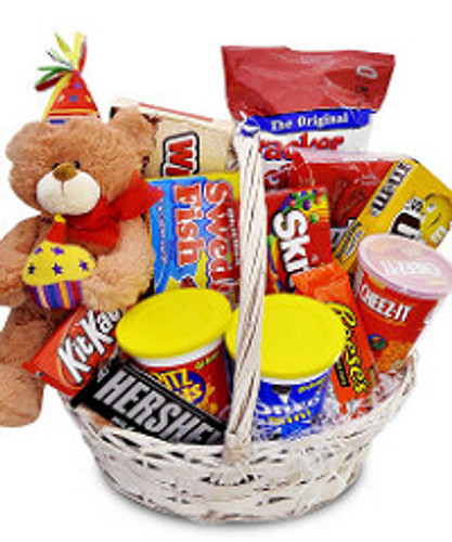 Junk Food N' Treats Basket