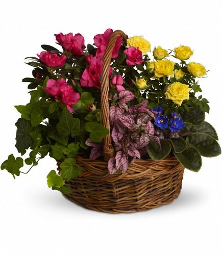 Methodist Blooming Garden Basket