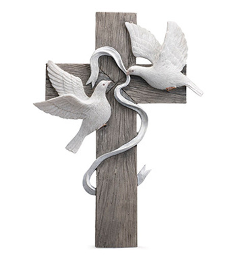 Cross with Doves