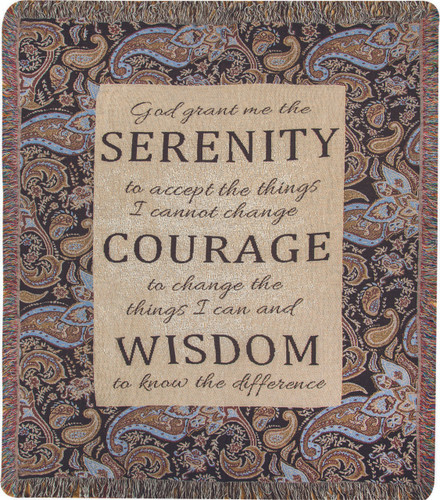 Serenity Memory Throw Blanket