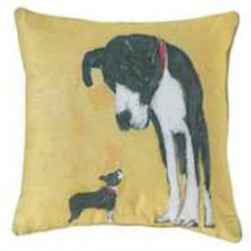 Unlikely Friends Pillow