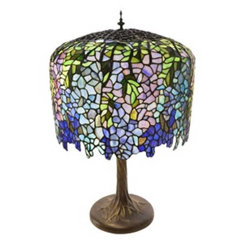 30 Tiffany Style Wisteria Grand Table Lamp Soderberg S Floral And
