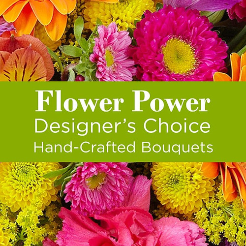 Mixed Bright Colors Florist Designed Bouqet