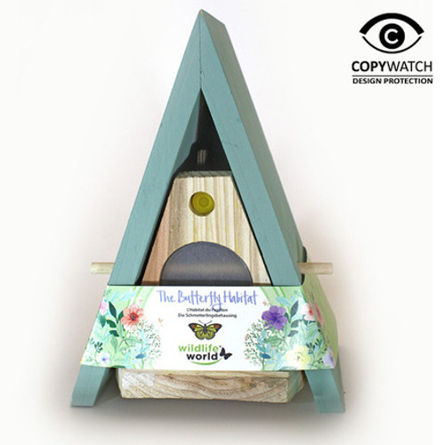 The Butterfly Home - House and Feeder