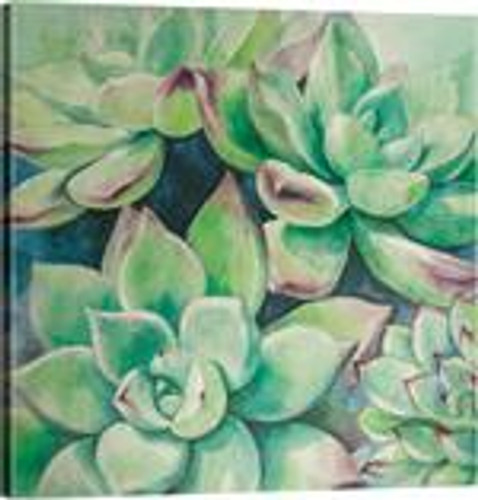 SUCCULENT CANVAS ART