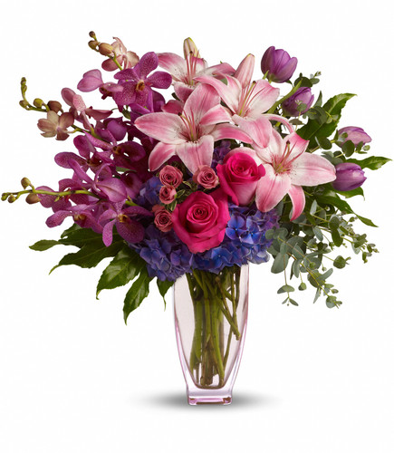Purple Perfection Bouquet