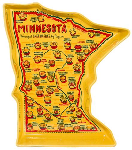 """Minnesota """"Hot Dish"""" Cassarole Pottery"""