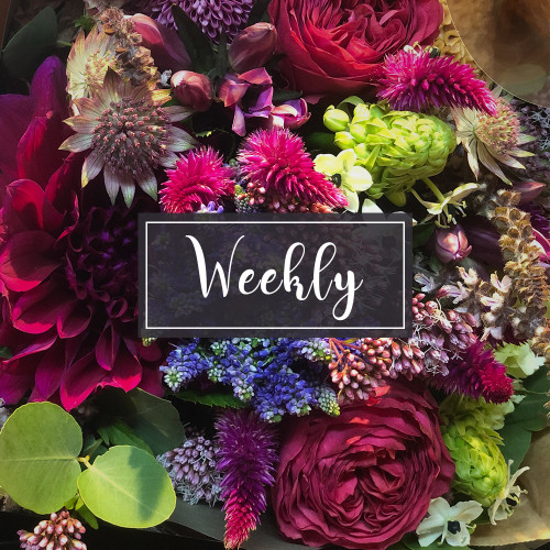 Weekly Flower Subscriptions  - Starting at 3 Months