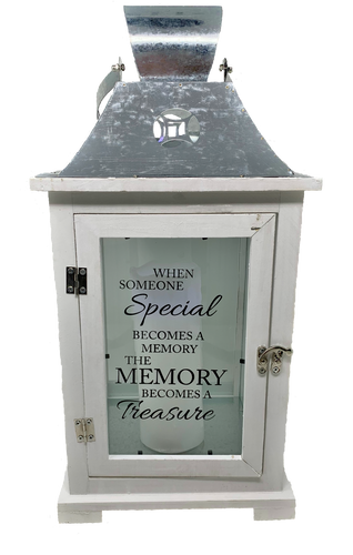 Treasured Memories Sympathy Lantern