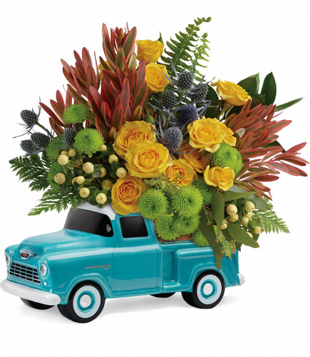 Timeless Chevy Bouquet