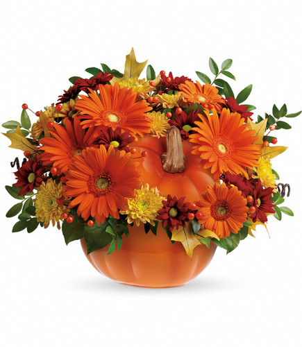 Country Pumpkins Bouquet