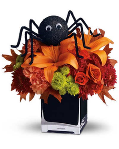 Along came a spider...  Bouquet