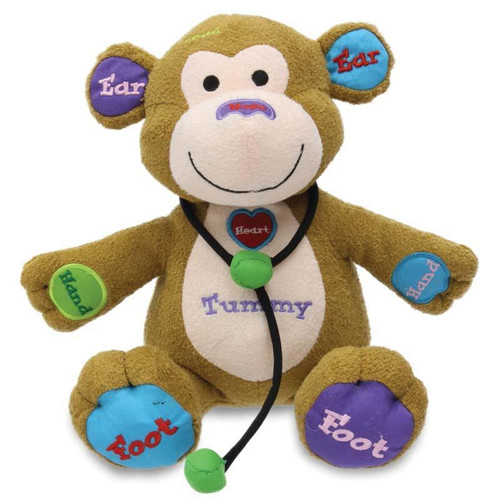 Dr Teacher Monkey Plush