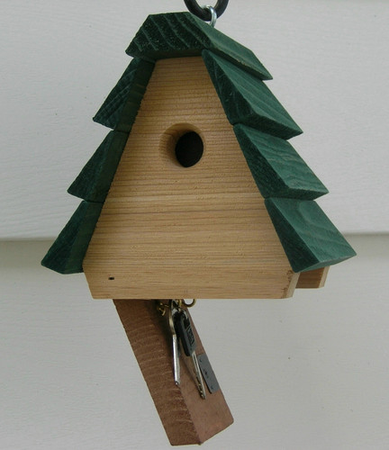 Hide-a-Key Birdhouse