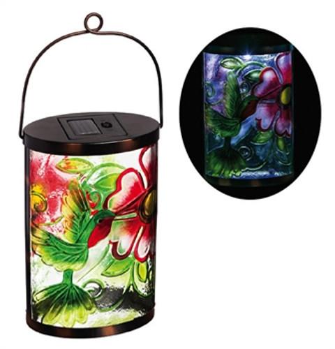 Garden Friends Solar Lantern,  Hummingbird