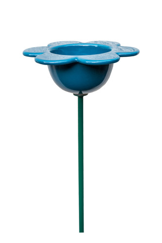 Petal Bird Feeder Blue