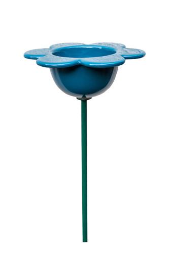 Petal Bird Feeder Blue