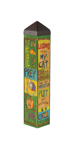 """Lessons from my Cat 20"""" Art Pole"""