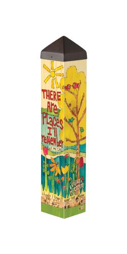 "In My Life 20""  Art Pole"