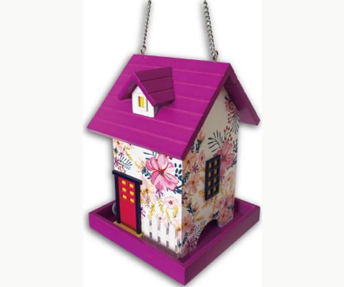 Dogwood Fuchia Birdhouse by Home Bazaar