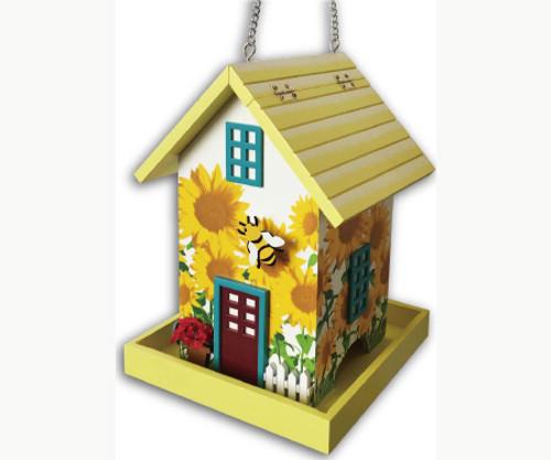 Bumble Bee Birdhouse by Home Bazaar