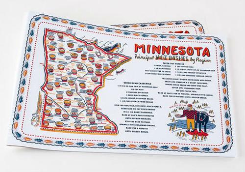"Minnesota ""Hot Dish"" Placemat -30 Sheets"