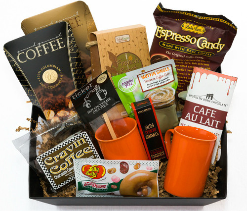 """Morning Jam"" Coffee n' Treats Gift Basket"