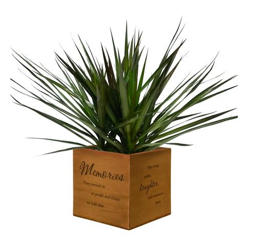 """Memories"" Keepsake Box/Planter"
