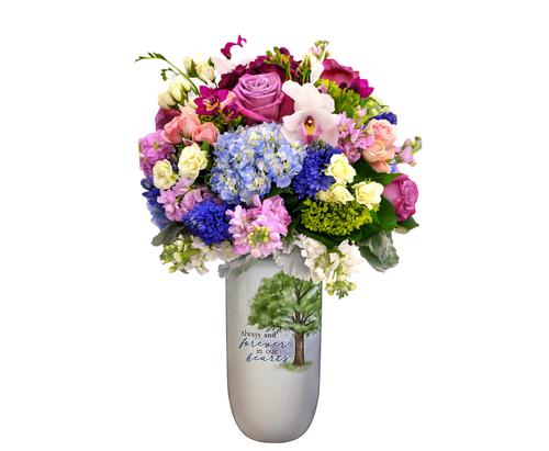 """Always In Our Heart"" Vase"