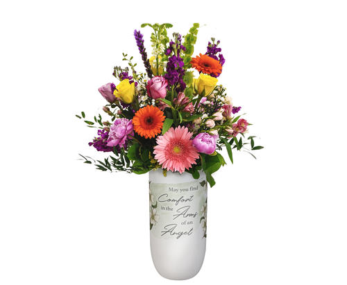 """Arms of Angel""  Vase"