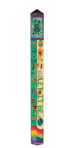 Let It Be 6' Art Pole by Studio-M